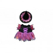 """Halloween Witch Custome Teddy Bear Clothes Outfit Fits Most 14"""" - 18"""" Build-A-Bear, Vermont Teddy Bears, and Make Your Own Stuffed Animals by The Bear Factory"""