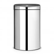 Brabantia Patentos nyomásra nyíló szemetes 40 literes inox - 348587