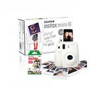Fujifilm - Instax Mini 8 - Appareil Photo Instantané - 10 Poses - Blanc