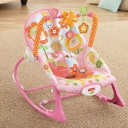 Fisher-Price - Balansoar 2 in 1 Infant to Todler Pink