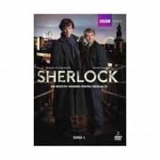 Sherlock:Benedict Cumberbatch,Martin Freeman - Sherlock-Un detectiv modern pentru secolul 21 - Seria 1 (2DVD)