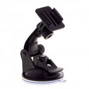 Sistem de prindere cu ventuza pentru GoPro (Negru)