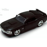 1970 5 Inch Ford Mustang Boss 429 Jada Big Time Muscle 1/32 Scale (Black)