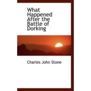 What Happened After the Battle of Dorking by Charles John Stone