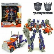 Transformers leader class Optimus prime transformation toy