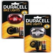 Duracell 5 LED Vorne & Hinten Fahrrad Licht Set (BUN0046A)