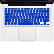 Enkay Keyboard Cover Skin for 15' & 13' MacBook Pro / Air - Blue