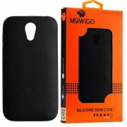MyWiGo CO4192N Silicon Black bumper for MyWigo Turia 2 - Black