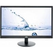 "Monitor MVA LED AOC 23.6"" M2470SWH, Full HD (1920 x 1080), HDMI, 5 ms, Boxe (Negru)"