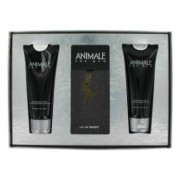 Animale 3.3 oz / 97.59 mL Eau De Toilette Spray + 3.4 oz / 100.55 mL After Shave Balm + 3.4 oz / 100.55 mL Body Wash Gift Set Me