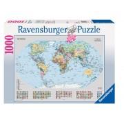 Puzzel van de Wereld 1000 stukjes | Ravensburger