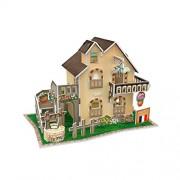 cubicfun 3d Puzzle France Flavor - Garden Cottage