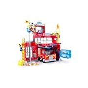 "Mickey Mouse Club House 181939 ""Mickey Mouse to the Rescue Fire Station"" Playset"