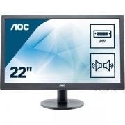 """AOC E2260sda 22"""" Nero Monitor Piatto Per Pc Led Display 4038986121903 E2260sda 10_0g30092"""