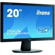 Monitor LED Iiyama ProLite E2083HSD-B1 19.5 inch 5 ms Black
