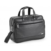 "Gino De Vinci Nappa Leather Laptop Bag 15"""