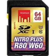 Strontium Nitro Plus 64GB UHS-1(U3) SDXC Card