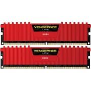 Kit Memorie Corsair Vengeance LPX 2x8GB DDR4 3200MHz CL14 Red