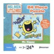 Mr. Happy 24 Piece Puzzle Mr. Men Little Miss Series