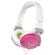 Casti Panasonic RP-DJS400 (Alb cu Roz)