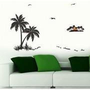Walltola Wall Decal - Palm Trees 57113 (Dimensions 120x80cm)