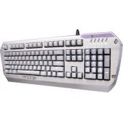 Tastatura Gaming Tesoro Colada G3NL Silver LED Aluminum Mechanical Edition Blue (Argintie)