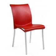 Stolica plastična Regina colori Crvena