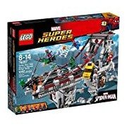 LEGO 76057 Super Heroes Spider-Man Web Warriors Ultimate Bridge Construction Set - Multi-Coloured