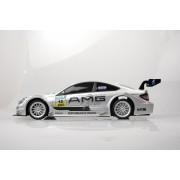Racetin Mercedes Benz DTM C-Clas Coupe AMG - 1:16 - Zilver Metallic