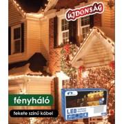 Toldható Fényháló Kontakt LED 2 x 1 m 96 db meleg fehér KDK 015