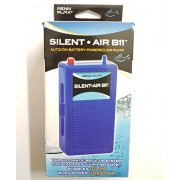 Silent Air B11 Battery Operated Aquarium Air Pump For Power Outage Automatic Turn On Keeps Fish Safe Up to 29 Gallons