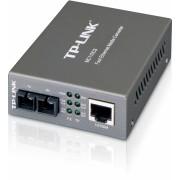 Media Convertor RJ-45 100Mbps la fibra SC single mode 100Mbps, TP-LINK MC110CS