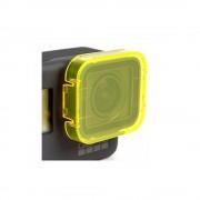 Filtru colorat pentru filmari subacvatice compatibil GoPro Hero 5 (Galben)