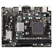 Asrock 960GM-VGS3FX 960GM-Vgs3 Fx Scheda Madre, Nero