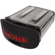 Stick USB SanDisk Ultra Fit, 64GB, USB 3.0, Negru