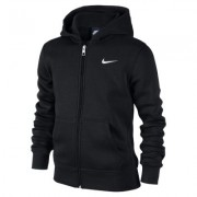 Sudadera con capucha para niños Nike Brushed Fleece Full-Zip