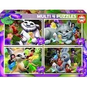 Educa - 16350 - Puzzle Classique - Multi 4 Fairies - 380 Pièces
