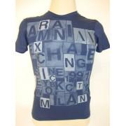 Camiseta - Armani Exchange - Azul AX