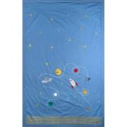 Dečiji pokrivač od bambusa Space 130x200 cm