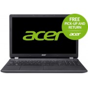 "Laptop Acer Aspire ES1-571 (Procesor Intel® Core™ i3-5005U (3M Cache, 2.00 GHz), Broadwell, 15.6""FHD, 8GB, 128GB SSD, Intel HD Graphics 5500, Linux, Negru)"
