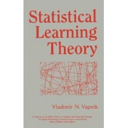 Statistical Learning Theory by Vladimir N. Vapnik