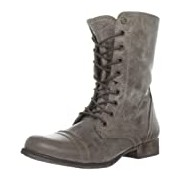 Steve Madden Troopa, Women's Unlined combat boots half length