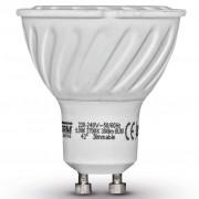Luxform Conjunto de 4 focos reguláveis, GU10 230 V 5 W SMD 42° 2700 K,