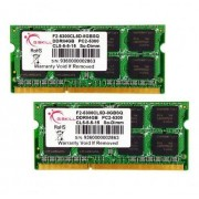Mémoire pour portable DDR2 G.Skill SO-DIMM 8 GB DDR2-667 Kit F2-5300CL5D-8GBSQ 8GB CL5 2 barettes