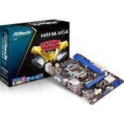 Asrock 90-MXGQN0-A0UAYZ Intel H61 Socket H2(1155) 1 x Ethernet 4 x USB 2.0