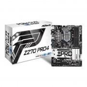 ASRock Z270 Pro4 Intel Socket 1151 ATX Motherboard