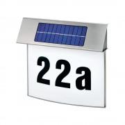 Napelemes LED-es házszámtábla, Esotec Vision (574397)