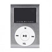 1,2 polegadas OLED cartão tf leitor de tocador de mp3 de música com clipe