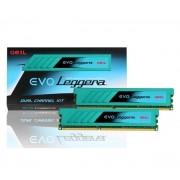 GEIL-16 Go Kit de 2x8 Go barrettes de mémoires DDR3 PC3-19200 2400 MHz EVO Leggera CL11 (11-13-13-30)-