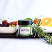 Masca gel cu acizi naturali din fructe - QI Cosmetics Longeviv.ro